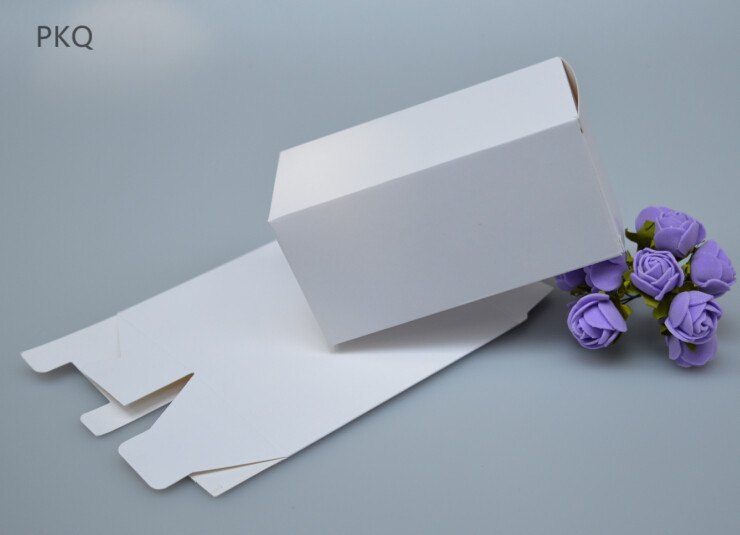 100 Pcs Kraft Papier Cadeau Boite Petit Boites De Rangement En