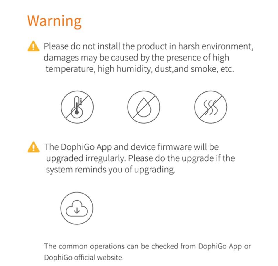 Notes For DV200 Doorbell