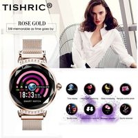 TISHRIC 2019 Newest H2 Smart Watch Women Sport/ip67/Waterproof/Bluetooth/Fitness tracker/Heart Rate Monitor Bracelet Best Gift