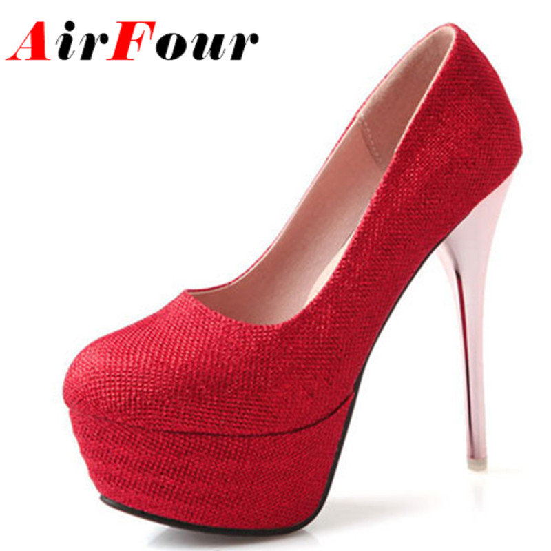 Popular Red Sequin Heels-Buy Cheap Red Sequin Heels lots from