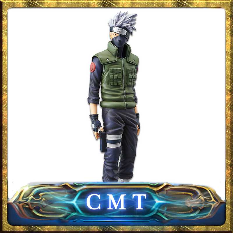 CMT Origianl Banpresto Naruto Shippuden Grandista Shinobi Relation Hatake Kakashi Anime PVC Toys Figure все цены