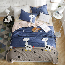 Cotton air conditioner quilt, summer cool can be washed Soft and comfortable, exquisite workmanship, good quality, good sleep