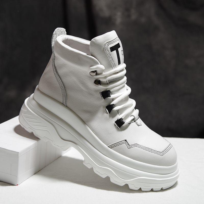 Aliexpress.com : Buy Fall Winter Pumps Women Shoes Leather ...