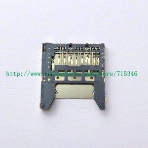 Image 2 - Nueva ranura para tarjeta de memoria SD para Nikon D5500 D5600 pieza de reparación para cámara digital