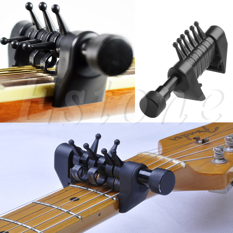 Multifunction 6 Chord Capo Open Tuning Spider Chords For Acoustic Guitar Strings hot 8x meideal capo10 acoustic electric guitar quick change trigger capo clamp black