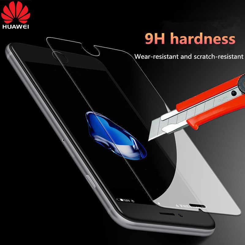 9 H กระจกนิรภัยสำหรับ Huawei P30 P10 P20 Lite Plus ป้องกันสำหรับ Huawei P20 Mate 20 lite Pro P Smart.