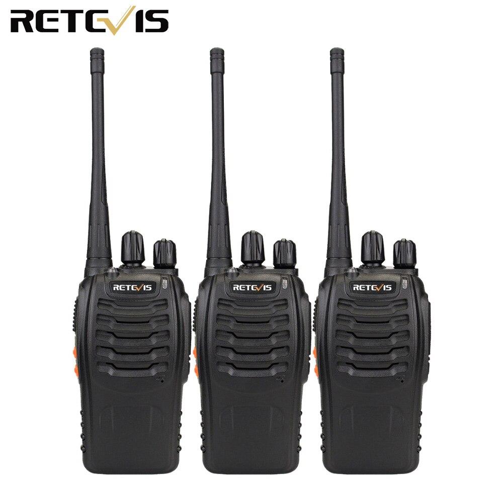 3 pcs Walkie Talkie Retevis H777 16CH UHF 400-470 MHz Ham Radio Transceiver HF 2 Way Radio Communicator a portata di mano A9104