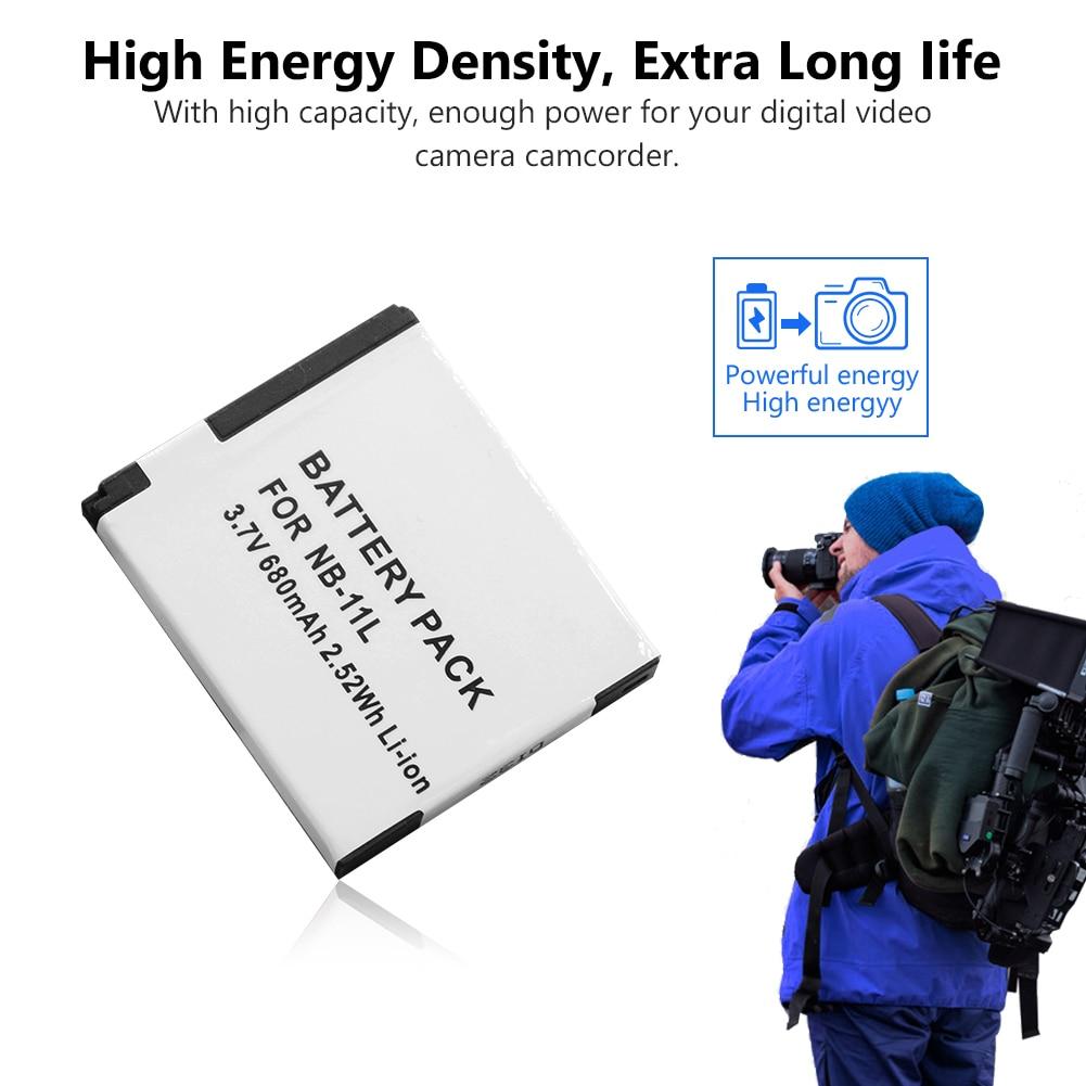 NB11L NB11LH NB-11L 11LH Battery for Canon Digital IXUS 175 180 185 190 IXUS132