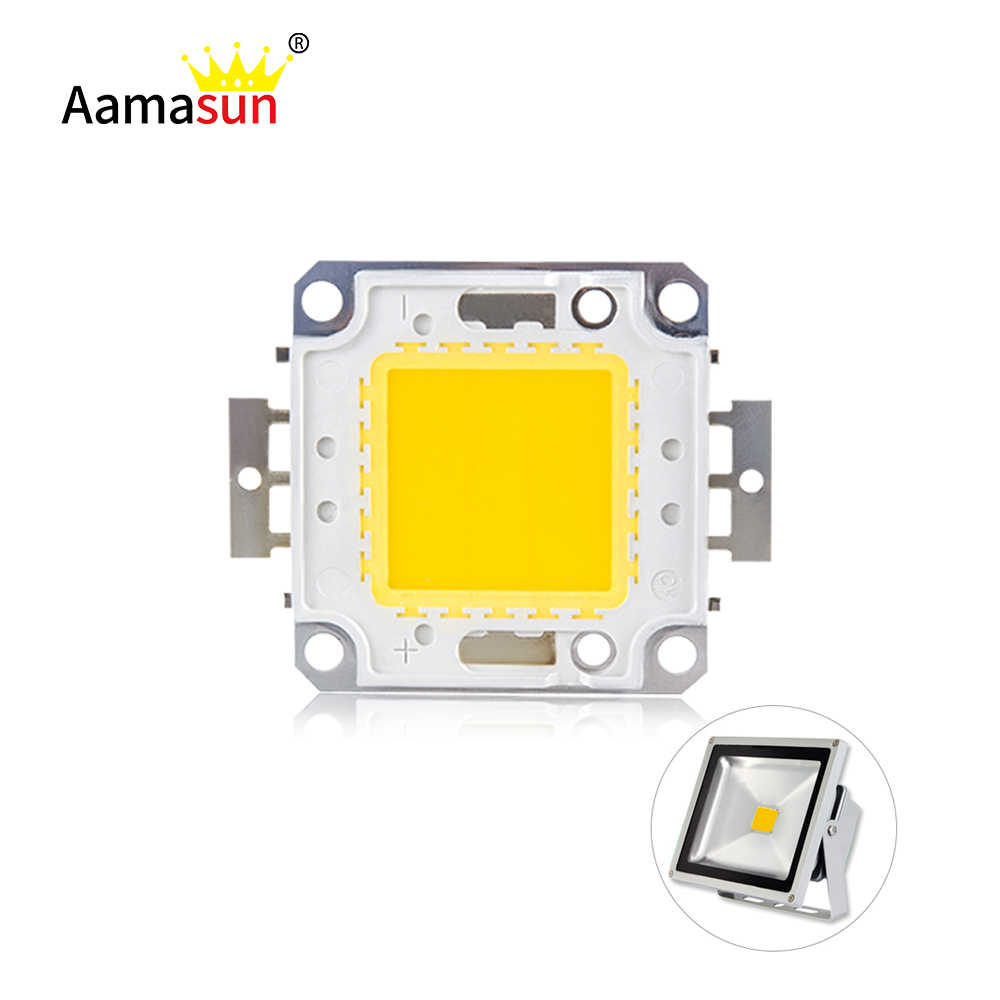 High Brightness LED Beads Chip 10W 20W 30W 50W 100W LED COB Chip White Warm White High Quality for DIY Flood Light Spotlight