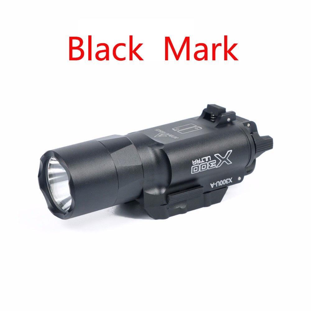 500 Lumens haute puissance tactique X300 Ultra pistolet pistolet lumière X300U arme lumière lanterne lampe de poche Glock 1911 pistolet lumière - 3