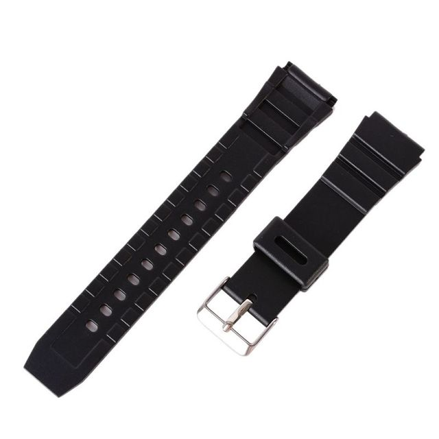 12-22mm Silicone Rubber Diving Strap Replacement Sport Wrist Watch Band Strap De