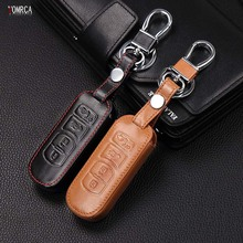 100 leather car key cover 4 button for font b MAZDA b font 3 6 MX