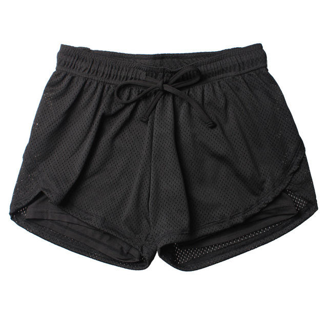 Women Fitness Sport Meshed Workout shorts