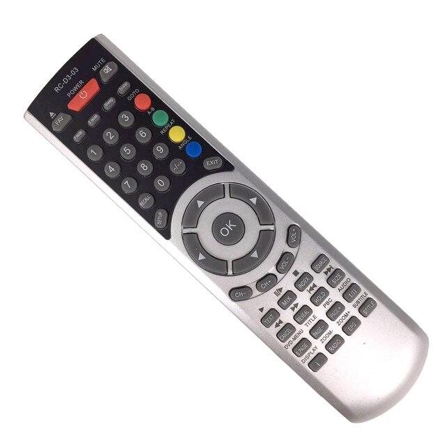Nuovo Rimontaggio RC D3 03 Telecomando Universale di Controllo Per AKAI Tauras Denver Mascom Lava QCOMBI LCD TV