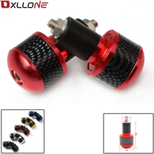 For Suzuki GS500  500 GSX R 600 Free shipping Aluminum adjustable Motorcycle Handle Hand Bar Ends Motorbike Handlebar Grips Ends