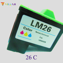 цена на vilaxh For Lexmark 26 Ink Cartridges For Lexmark i3 Z13 Z23 Z25 Z33 Z35 Z513 Z515 Z603 Z605 Z611 Z615 Z617 Z645 X2250 X74