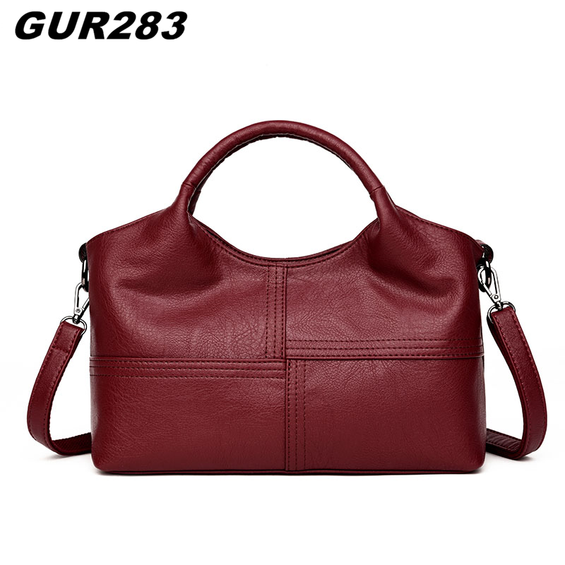 Luxury women leather handbags women messenger bags famous brand shoulder bag female designer handbag high quality bolsa feminina women messenger bags designer handbags high quality 2017 new belt portable handbag retro wild shoulder diagonal package bolsa