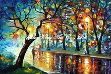 palette knife oil painting  modern oil painting canvas oil painting K379