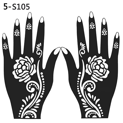 picture regarding Henna Templates Printable called easiest final 10 henna hand template Options and purchase cost-free shipping and delivery