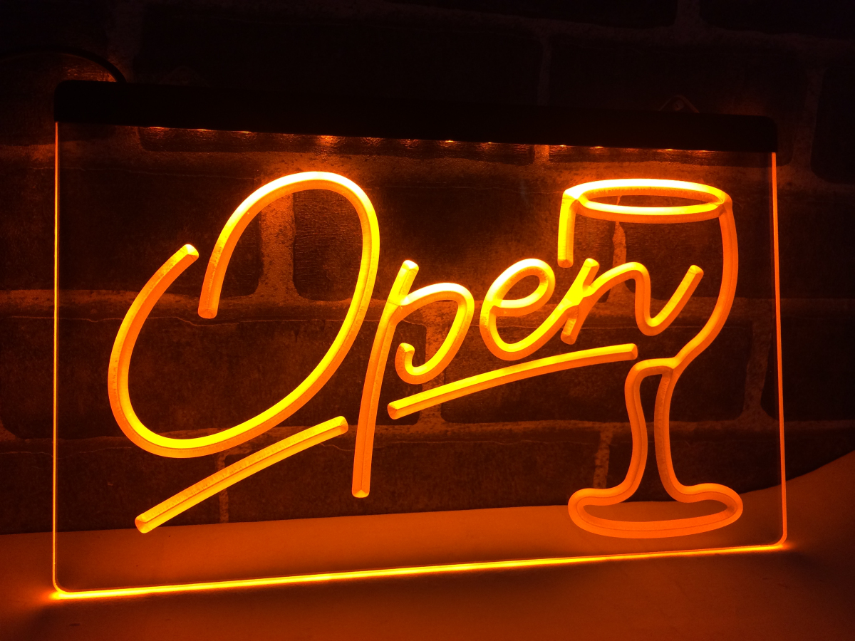 Neon Light Open Sign 5