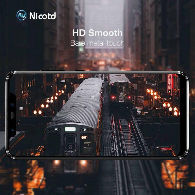 Protector de pantalla de cobertura completa 9D para Xiaomi Red mi Note 6 pro vidrio templado en Xio mi Redmi 6 6A Note 4X7 mi 8 SE F1 Protector