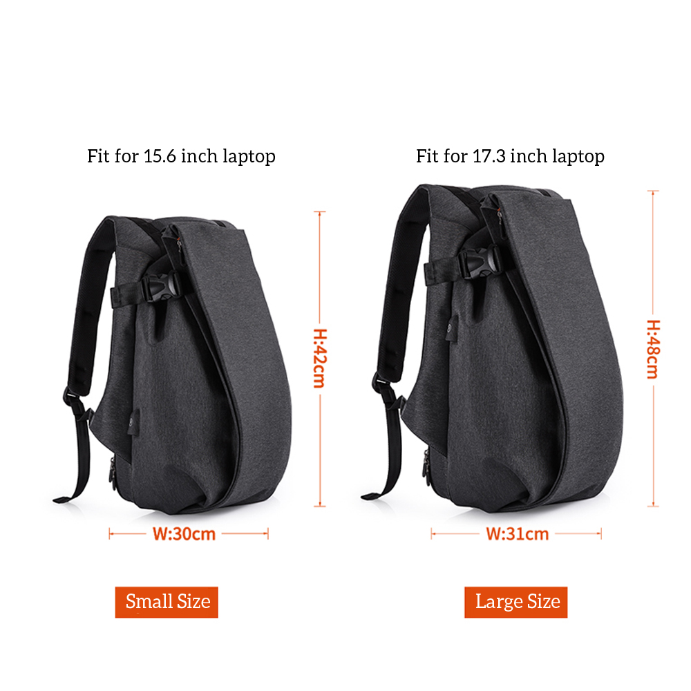 USB port waterproof backpack 3