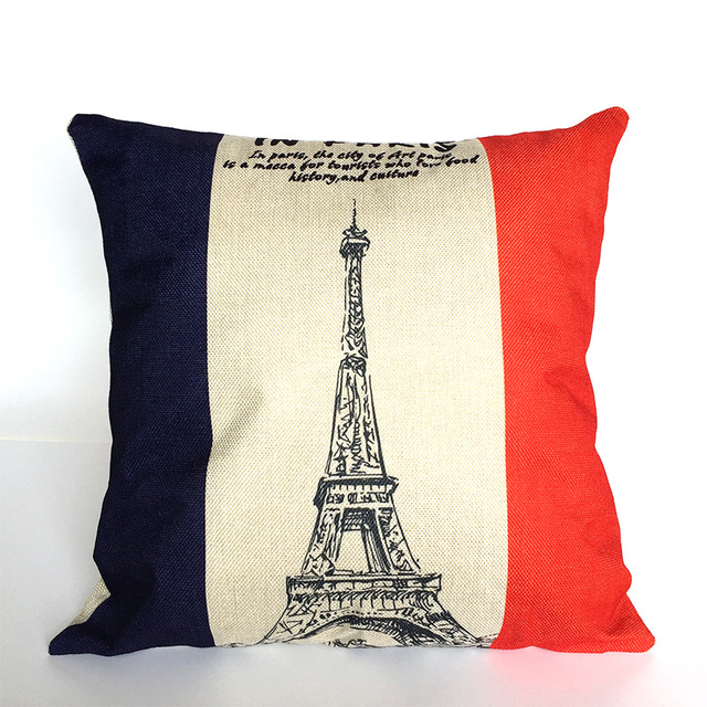 Paris Cushion Pillow Case Cover Decorative Pillows Decorative Decor Awesome Pillow Case Covers For Throw Pillows