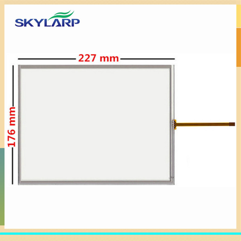 original New 10.4 inch 227*176mm touch screen 227mm*176mm digitizer For Industrial equipment touch + USB driver board цена 2016