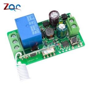 Ac 220V 10A 1 Ch 315 Mhz 433 Mhz Kanaals Draadloze Rf Afstandsbediening Zender Ontvanger Relais Switch Beste voor Smart Home