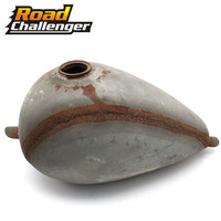 Cafe Racer Tank Motorcycle Vintage Fuel Gas Can Retro Petrol Tanks For Steed VLX400/600