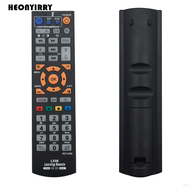 Universal TV Remote Control Wireless Smart Controller Replacement With Learning Function Remote Control For Smart TV CBL DVD chunghop rm l7 multifunctional learning remote control silver