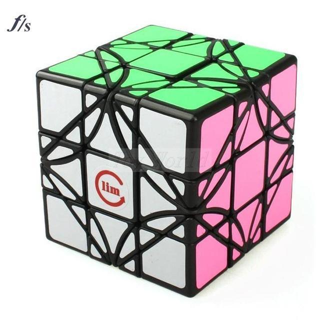 Diversiones LimCube 3x3x3 Rompecabezas Cubo Mágico Irregular Cubo mágico Speed Puzzle Cubos juguetes Educativos Juguetes kub regalo