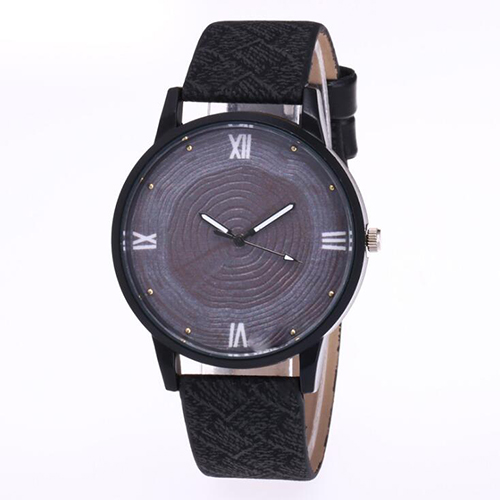Women Watch Watch Clock Female Simple Style Number Watches Business Quartz Leather Belt Wrist Watch