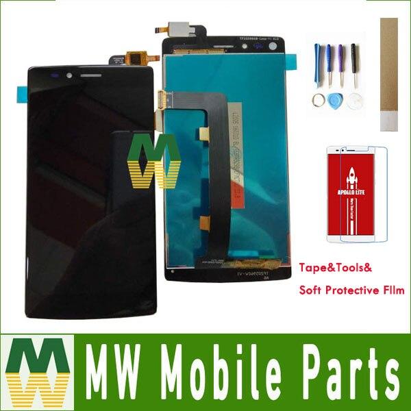 1 pc/lot Haute Qualité Pour Vernee Apollo lite Blanc couleur LCD Display + Écran Tactile Digitizer Assemblée avec des outils