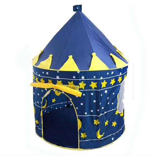 Ultralarge Children Beach Tent, Baby Toy Play Game House, Kids Princess Prince Castle Indoor Outdoor Toys Tents Christmas Gifts