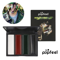 POPFELL Army Fan Outdoor Blusher Drama Oil Rouge CS Camo Camouflage Prentend Oil For Body Facial Paint Art Camouflage Camo Oil