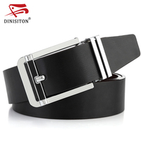 DINISITON Belts For Men Genuine Leather Strap High Quality Casual Cowhide Belt Fahsion Double Color Used
