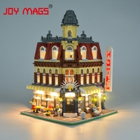 JOY MAGS Only Led Light Building Block For Creator City Street Make Create Cafe Corner Compatible With Lego 10182 15002