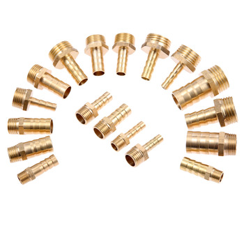 5Pc Brass Pipe Fitting 6mm 8mm 10mm 12mm 16mm Hose Barb Tail 1/8 1/4 1/2 3/8 Male Threaded Connector Joint Coupler Adapter brass hose fitting 4mm 6mm 8mm 10mm 19mm barb tail 1 8 1 4 1 2 3 8 bsp female thread copper connector joint coupler adapter