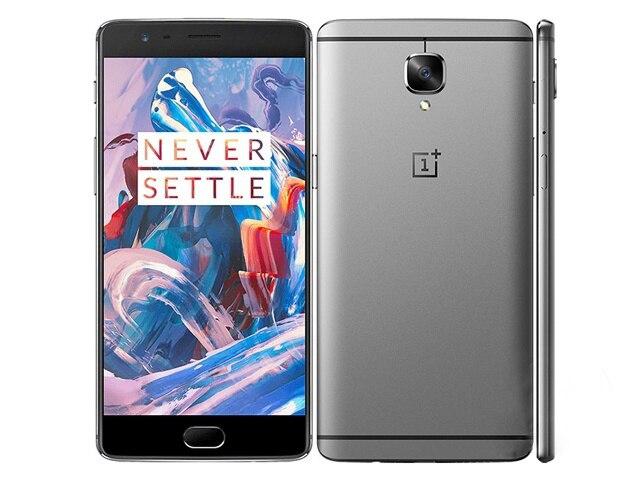 Оригинальная новая разблокированная версия Oneplus 3 T 3 T A3000 мобильный телефон 5,5 дюйма 6 ГБ ОЗУ 128 Гб Две SIM-карты Snapdragon 821 телефон Android