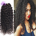 Virgin Malaysian Curly Hair Extensions 4Pcs/lot Modern Show Hair Cheap Malaysian Hair Weave Bundles Unprocessed Curly Human Hair