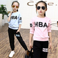 Cute Baby Girl Clothing Sets 2016 New 2 pcs O-neck Tops & Pants Children's Sets for Girls Full Sleeve Baby Girl Sets Clothing