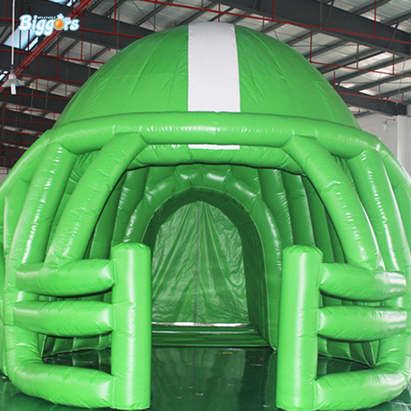 PVC Football Tent Blast Tunnel Camping Tent Sport TennisTent Inflatable For Sale black inflatable tunnel 4 4 3m tunnel tent stage tent for children giant inflatable stage cover for sale toys tents