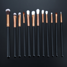 12pcs Pro Makeup Brushes Set Foundation Powder Eyeshadow Eyeliner Lip Brush Tools Highlighter