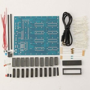 Image 4 - 무료 배송 공장 가격 프로모션!!! 8x8x8 LED 큐브 3D 라이트 스퀘어 블루 LED 전자 DIY 키트 강화 능력