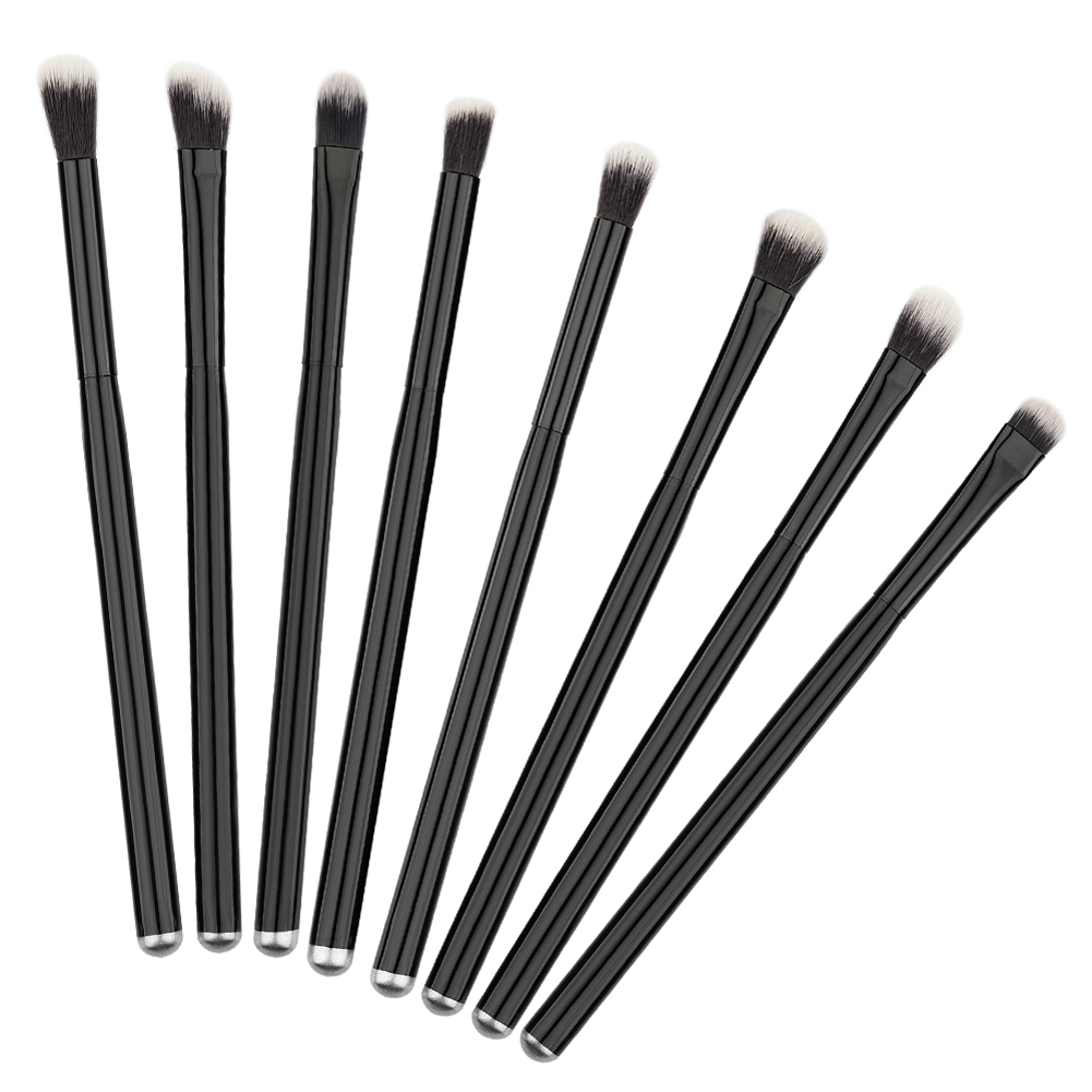 8Pcs Wooden Handle Makeup Brushes Cosmetic Eyeshadow Eyebrow Eyeliner Lips Eyes Make Up Brushes Beauty Pincel Maquiagem Tool