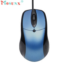Mosunx Advanced mouse 1200 DPI USB Wired Optical Gaming Mice Mouse mini For PC Laptop Fashion 2017 tablets 1PC