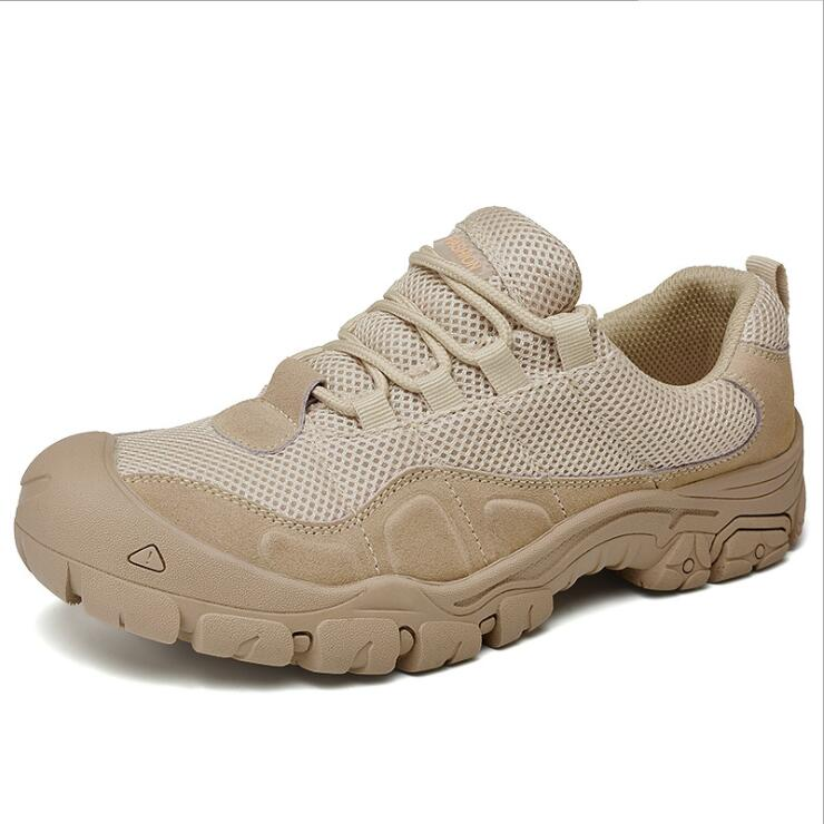 Sneakers Hiking-Shoes Trekking Mountain-Jogging Climbing Sport Breathable Anti-Skid Men