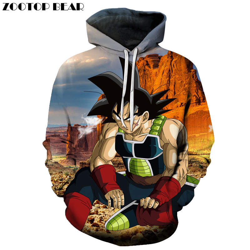 Boxer Hoodies Dragon Ball Hooded Sweatshirts 3D Print Hoodie Band Tracksuit Pullover Men Women Coat Goku Top DropShip ZOOTOPBEAR