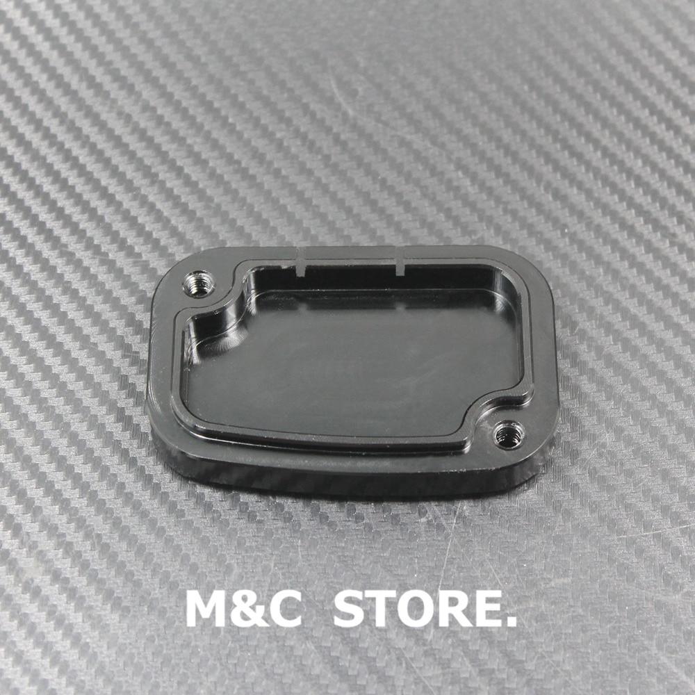Black CNC Brake Master Clutch Cylinder Covers For Harley Touring Electra Glide Road Glide 2008-2014